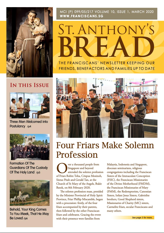 Saint Anthony Bread