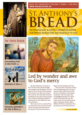 St Anthony's Bread Article #1