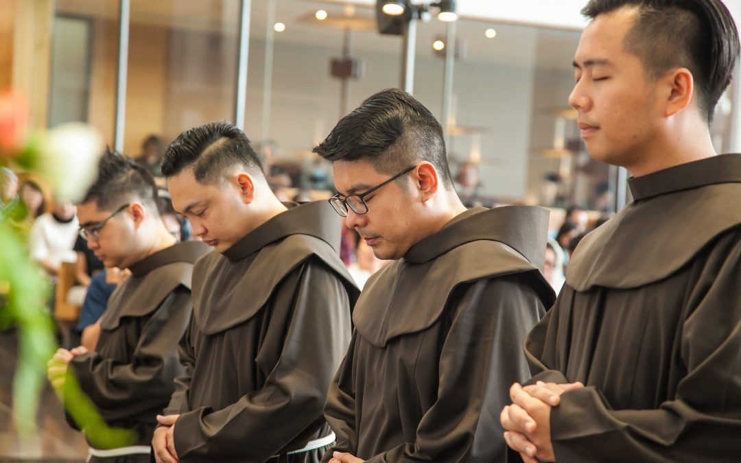 Four Friars For Solemn Profession