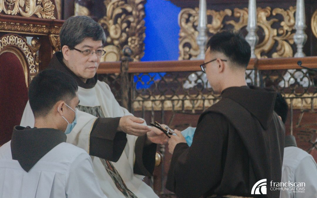 Friar Marvin Making His First Profession