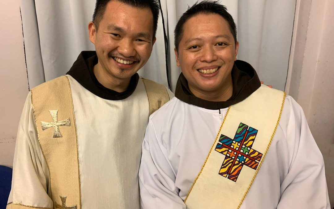 Franciscans Rejoice over Two Priestly Ordinations