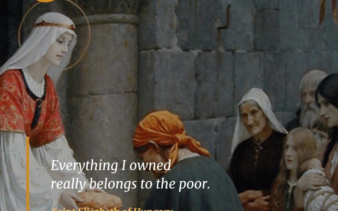 Saint Elizabeth of Hungary (1207-1231)