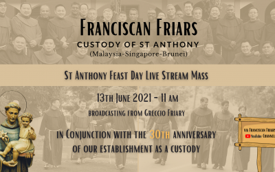 St Anthony Feast Day Live Stream Mass 2021