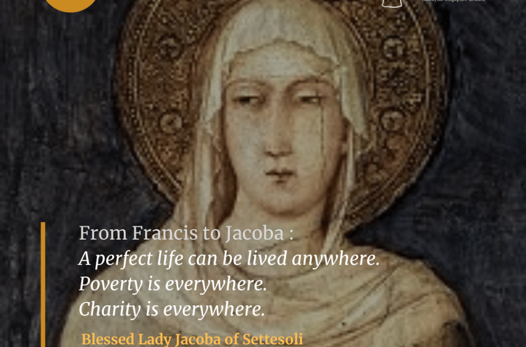 Blessed Lady Jacoba of Settesoli (1190-1273)