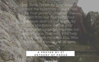 A Prayer : St Anthony of Padua