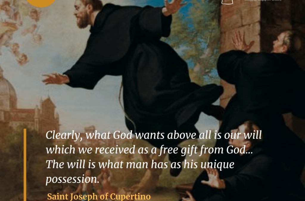 Saint Joseph of Cupertino (1603-1663)
